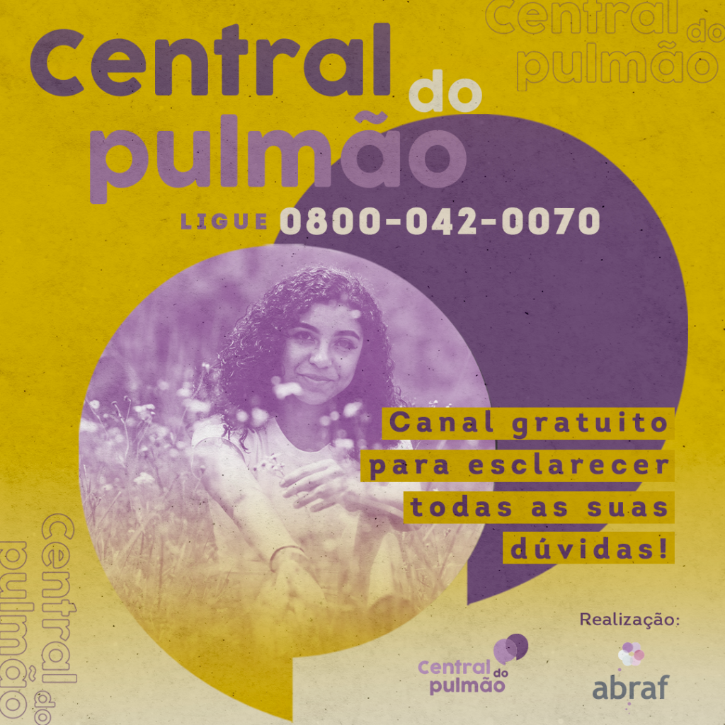 Ligue para a Central do Pulmão